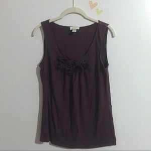 Ann Taylor Loft Purple Top | Size Medium